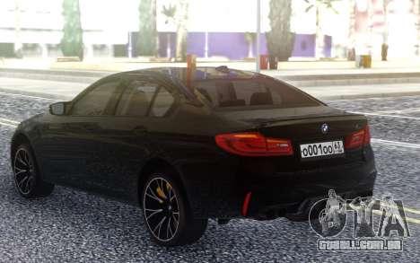 BMW M5 F90 Competition para GTA San Andreas