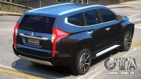 Mitsubishi Montero para GTA 4
