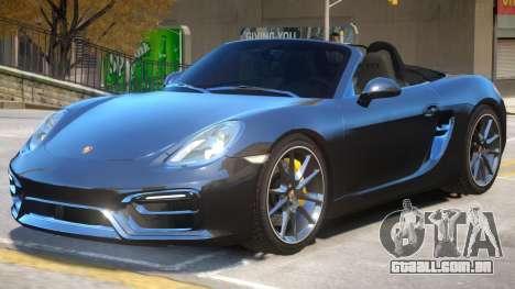Porsche Boxster GTS para GTA 4