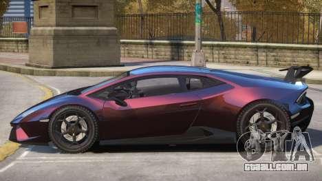 Lamborghini Huracan V2 para GTA 4