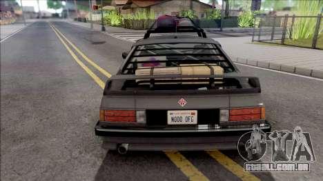 GTA V Ubermacht Zion Classic VehFuncs Style para GTA San Andreas