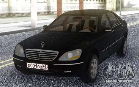 Mercedes-Benz W220 para GTA San Andreas