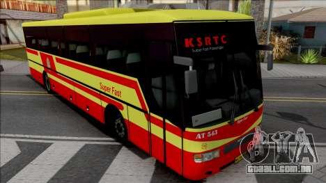 MAN KSRTC Super Fast para GTA San Andreas