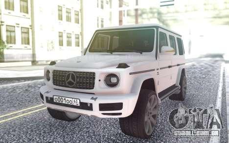Mercedes-Benz G63 AMGG500 para GTA San Andreas