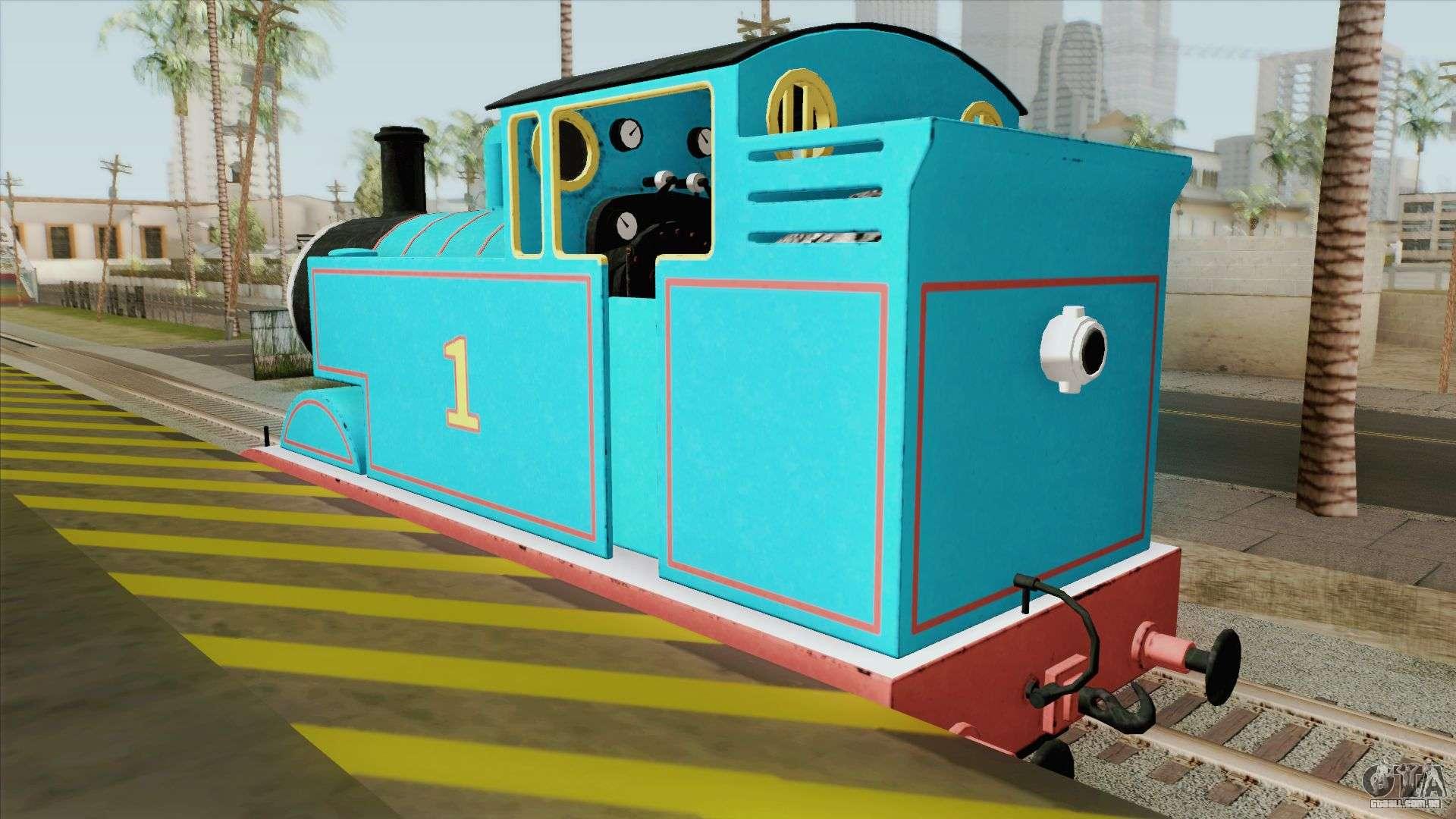Thomas The Tank Engine Para GTA San Andreas