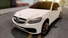 Mercedes-Benz E63 AMG White para GTA San Andreas