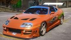 Toyota Supra Fast V1.1 para GTA 4