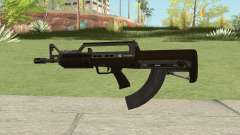 Bullpup Rifle (With Flashlight V2) GTA V para GTA San Andreas