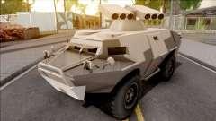 GTA V HVY APC S.A.M. Turret SA Style