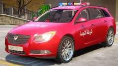Opel Insignia Syrian Police para GTA 4