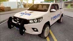 Toyota Hilux Policia Fuerza Publica para GTA San Andreas