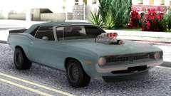 Plymouth Hemi Cuda Convertible para GTA San Andreas