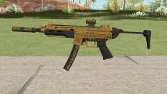 SMG Silenced V3 (Luxury Finish) GTA V para GTA San Andreas