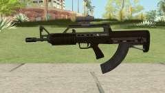 Bullpup Rifle (With Scope V2) GTA V para GTA San Andreas