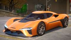 2017 NIO ep9 v2.0 para GTA 4