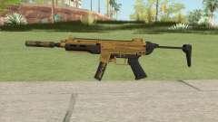 SMG Silenced V1 (Luxury Finish) GTA V para GTA San Andreas