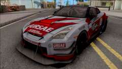 Nissan GT-R R35 Nismo R3 2018 para GTA San Andreas