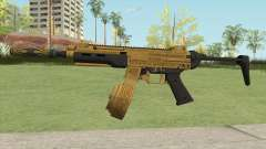 SMG Silenced V2 (Luxury Finish) GTA V para GTA San Andreas