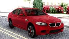BMW M5 F10 Red Sedan para GTA San Andreas