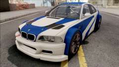 BMW M3 GTR NFS Most Wanted