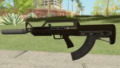 Bullpup Rifle (With Silencer V2) GTA V para GTA San Andreas