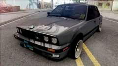 BMW 3-er E30 KSKN GARAGE para GTA San Andreas