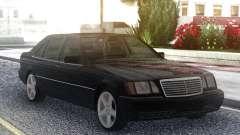 Mercedes-Benz S600 W140 Original Black para GTA San Andreas