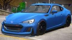 Subaru BRZ STi para GTA 4