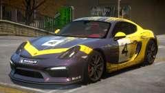2015 Porsche Cayman Clubsport 2K para GTA 4