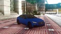 Infiniti Q50 Blue Sedan para GTA San Andreas