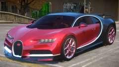 2017 Bugatti Chiron wheel red