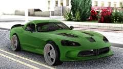 Dodge Viper SRT10 Formula Drift para GTA San Andreas