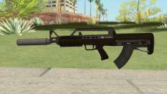 Bullpup Rifle (With Silencer V1) GTA V para GTA San Andreas