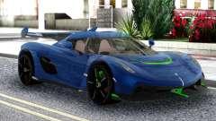 Koenigsegg Jesko 2019 Racing para GTA San Andreas