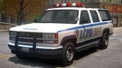 Declasse Granger Police V2 para GTA 4