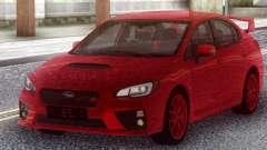 Subaru WRX STI 2017 Red Original para GTA San Andreas