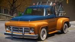 Vapid Tow Truck Restored V2 para GTA 4