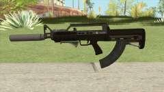 Bullpup Rifle (Three Upgrades V8) GTA V para GTA San Andreas