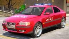 Volvo S60 Police Syrian para GTA 4