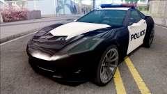 Invetero Coquette Police para GTA San Andreas
