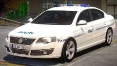 Volkswagen Passat Police para GTA 4