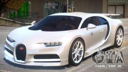 2017 Bugatti Chiron v1.1 para GTA 4