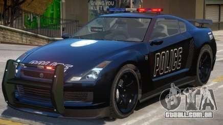 Annis Elegy RH8 Police para GTA 4