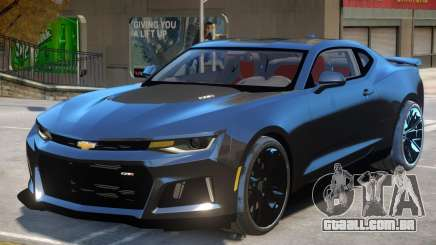 Chevrolet Camaro ZL1 V2 para GTA 4