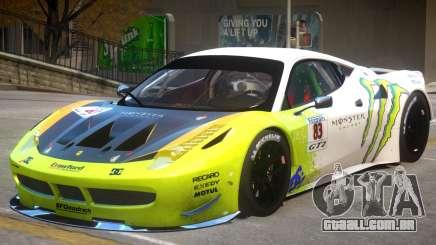 Ferrari 458 GT2 PJ1 para GTA 4