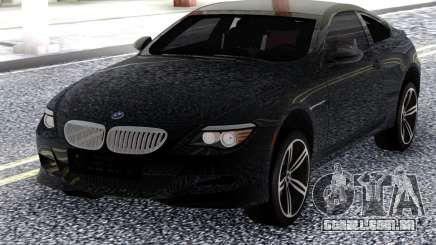 BMW M6 E63 2010 Black para GTA San Andreas