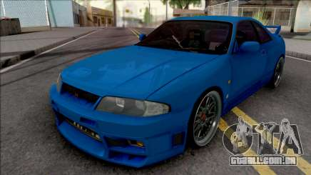 Nissan Skyline GT-R R33 para GTA San Andreas