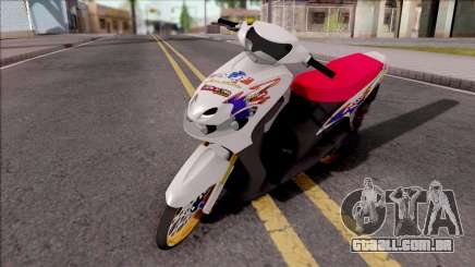Yamaha Mio MX para GTA San Andreas