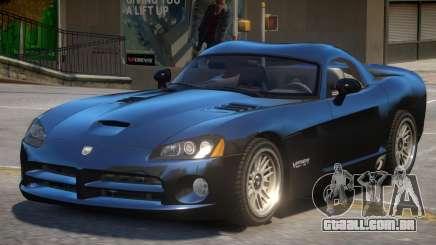 Dodge Viper SRT-10 V1 para GTA 4