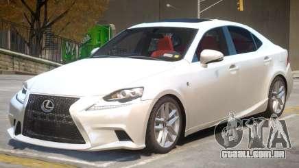 Lexus IS 350 V1 para GTA 4